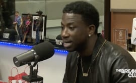 This is Gucci Mane's 'Breakfast Club' interview in 2016.
