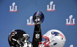 Falcons Patriots Vince Lombardi Trophy 2017