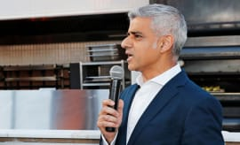 This is a photo of Mayor Sadiq Khan.