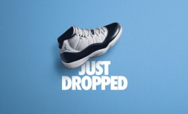 Air Jordan 11 XI UNC Win Like '82 Early Release Date 378037-123