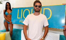 Scott Disick attends the daytime party