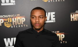 Shad Moss attends 'Growing Up Hip Hop Atlanta' Atlanta Premiere