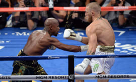 Floyd Mayweather and Conor McGregor fight on August 26, 2017.