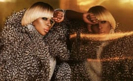 "Mary J. Blige's ""Thick of It"" single cover."