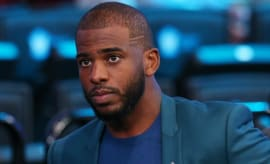 Chris Paul at the 2017 NBA Awards.