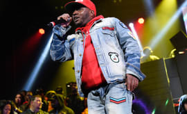 Lil' Cease performs live on stage for the Ruff Ryder's Reunion Tour 2017