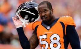 Von Miller of the Denver Broncos