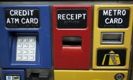 Subway Metro Card ticket machine, Manhattan, New York City, USA