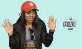 Lady Leshurr on The GOAT Show