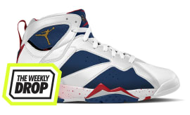 Jordan 7 Alternate Olympic Australian Sneaker Release Date: The Weekly Drop