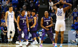 Kansas State plays Kentucky.