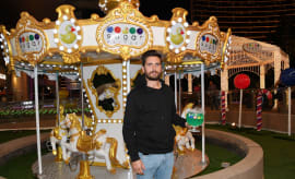 Scott Disick Hosts Sugar Factory Las Vegas Grand Opening on March 18, 2017 in Las Vegas, NV