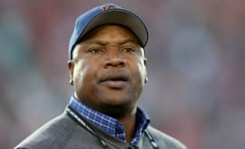 Bo Jackson watches Auburn play.