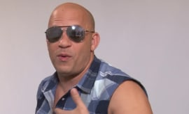 Vin Diesel creeps out.