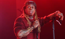 Lil Wayne performs in concert during 'Kloser 2 U' tour