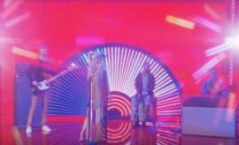 """Screenshot from Calvin Harris' alternate video for """"Feels."""""""