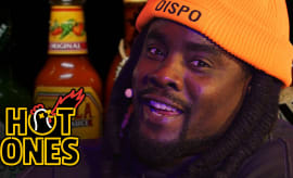 wale battles spicy wings live hot ones