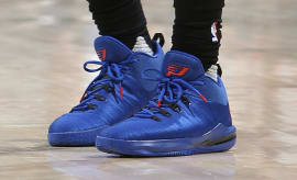 Chris Paul Jordan CP3.X AE Blue/Red Game 6 PE Shoes