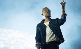 Kendrick Lamar performs at the 50th Festival D'ete De Quebec.