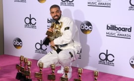 Drake Breaks Adele's Billboard Music Award Record