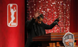 Allen Iverson Hall of Fame Induction Speech Bow 2016