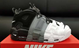 Nike Air More Uptempo Tri-Color Black Grey White Release Date Profile 921948 002