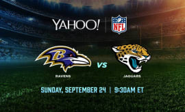 Ravens vs Jaguars live from London