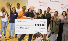 Common (C) attends Adopt-A-Classroom Event
