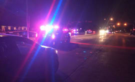 The scene of a shooting in Plano, Texas.