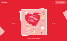 Spotify x Migos Valentine's Day E-Cards