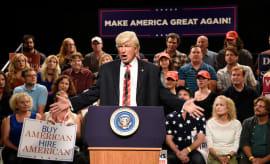 Alec Baldwin as Trump on SNL