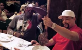 N.O.R.E. Does Las Vegas in Style with Rap Legends Ice-T and Raekwon the Chef