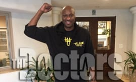 Lamar Odom checks out of rehab.