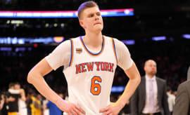 Kristaps Porzingis Knicks Nuggets 2017