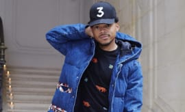 Chance the Rapper '3' hat.