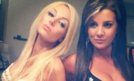 Angel Monroe and Baylee Curran