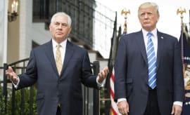 Rex Tillerson & Donald Trump