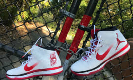 Shane McMahon Air Jordan 31 Red Wings Custom Hell in a Cell (1)