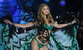Gigi Hadid in the Victoria's Secret Fashion Show