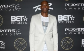 Al Harrington at BET's The Players' Awards.