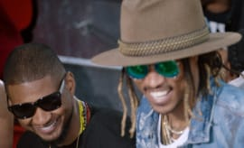 "This is Usher's video for ""Rivals"" featuring Future."