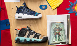 Nike Air More Uptempo Doernbecher Samples Lead