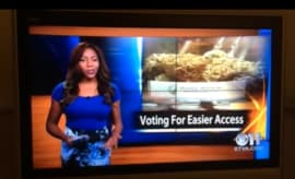 Charlo Greene news anchor quits