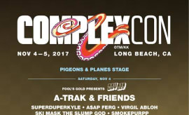 ComplexCon 2017 Pigeons & Planes stage.