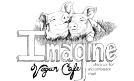 Imagine Vegan Cafe Logo