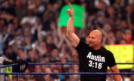 Ston Cold Steve Austin WrestleMania 25 2009 Houston