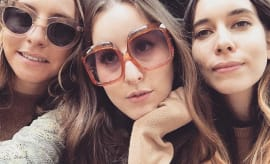This is a photo of Haim.