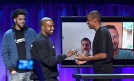 Kanye and Jay Z