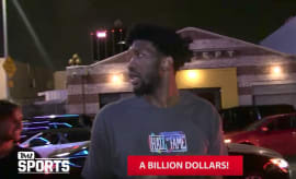 Joel Embiid TMZ video