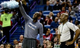 Kevin Garnett before a 2016 game.